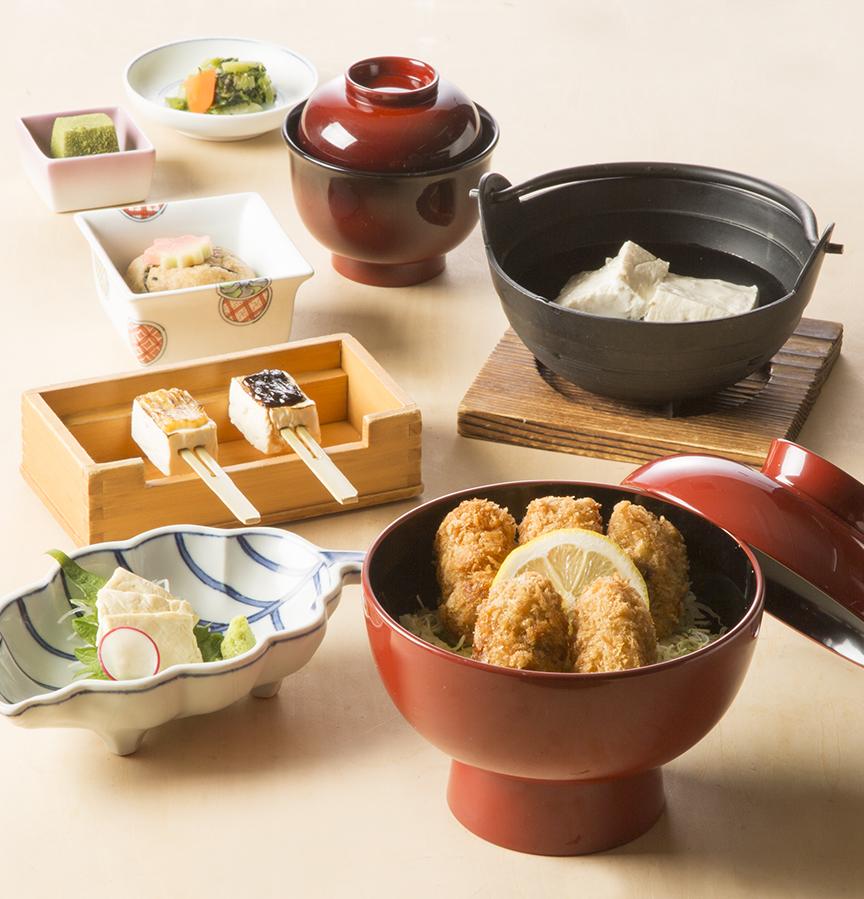 【期間限定】広島県産 牡蛎フライ丼御膳